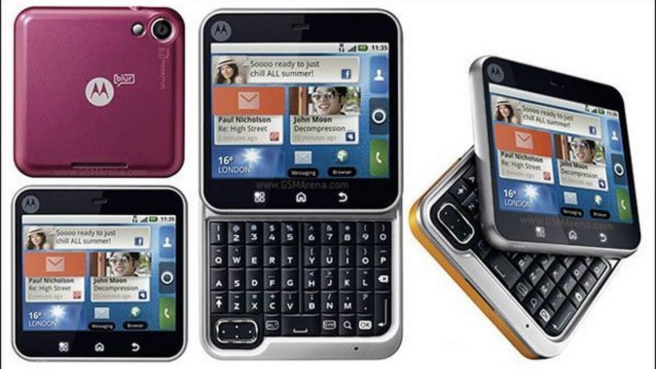 カナダRogers版「Motorola Flipout」入手しました