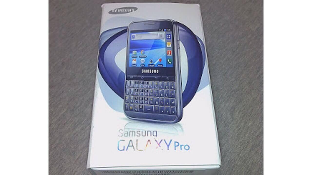 「Galaxy Pro」ホワイトが届きました