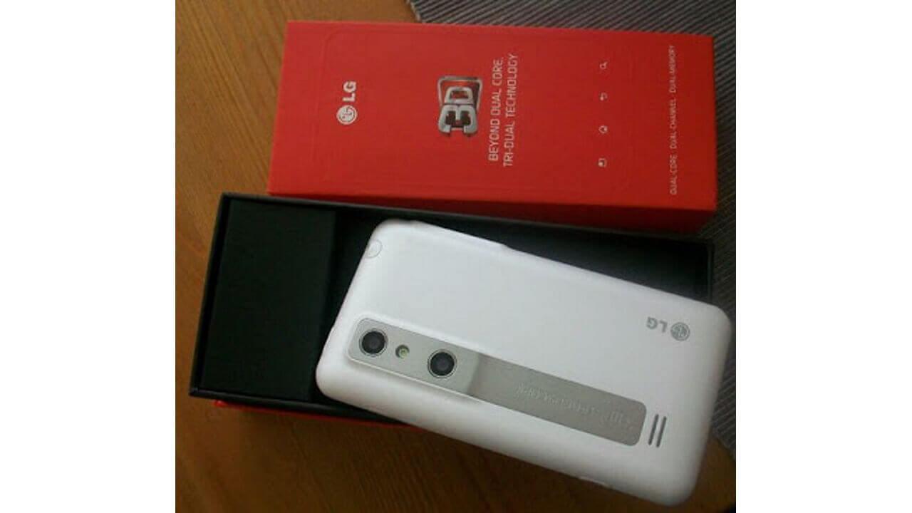 「LG Optimus 3D Limited WHITE」入手経路確保!