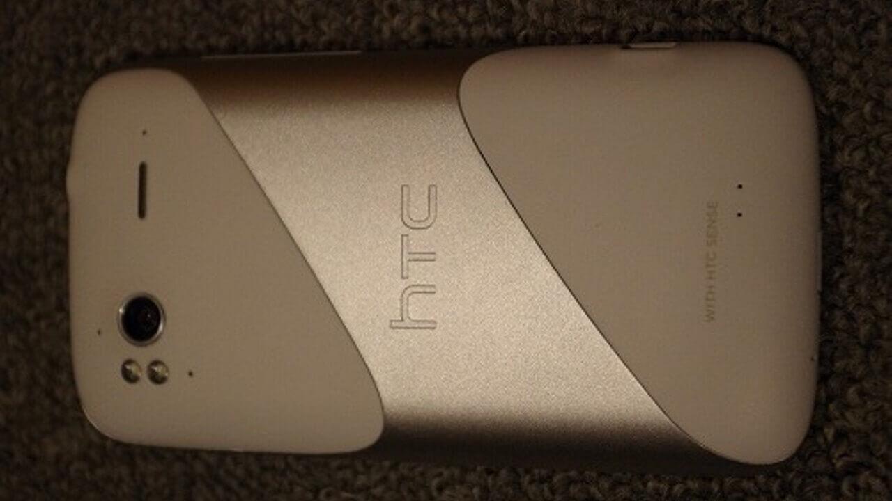 来た!「HTC Sensation」ホワイト!!
