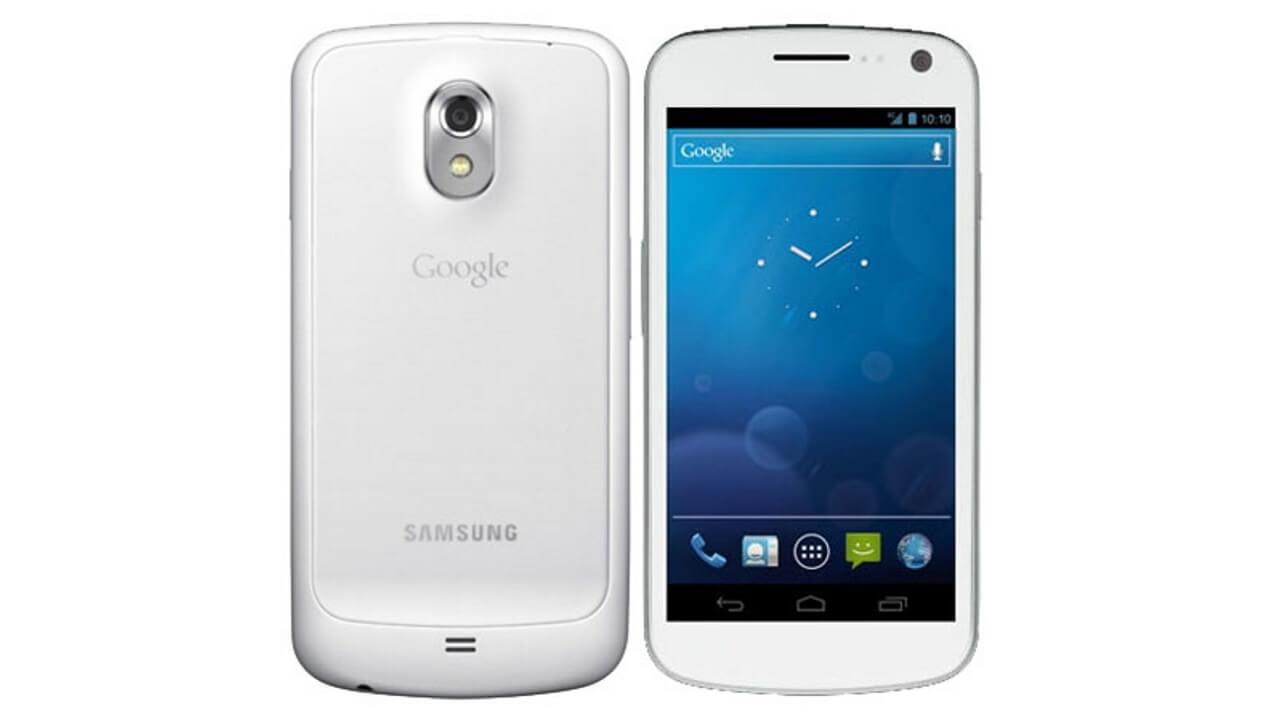 「Galaxy Nexus」ホワイト、、、??