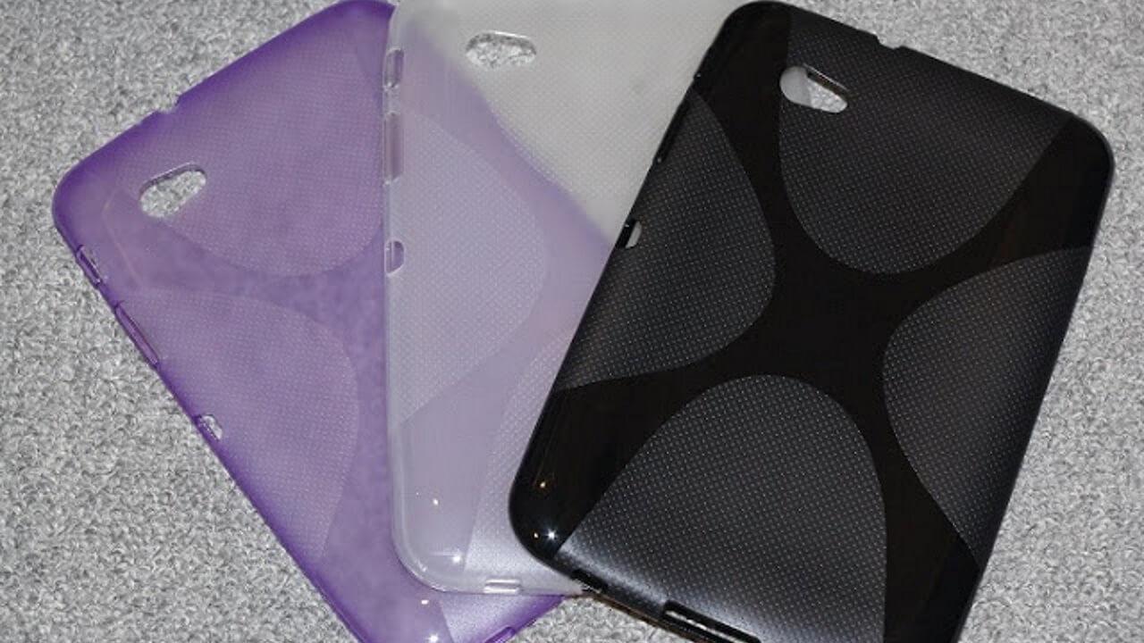 「Galaxy Tab 7.0 Plus」用TPUケースも届きました