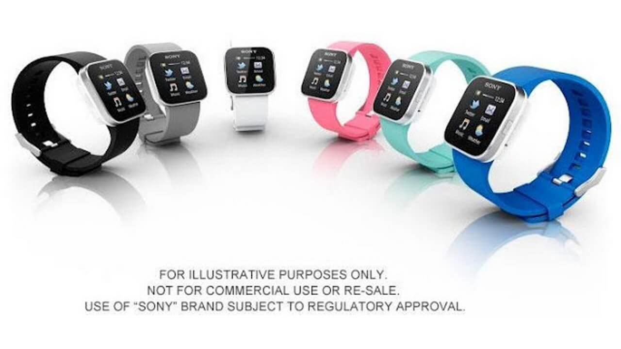 「i'm Watch」みたいなSony「SmartWatch」