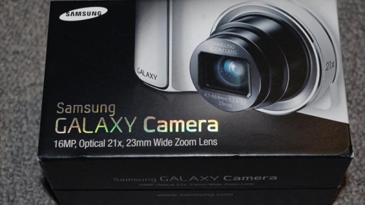 GAMERA届きました!Galaxy Camera EK-GC100序盤編