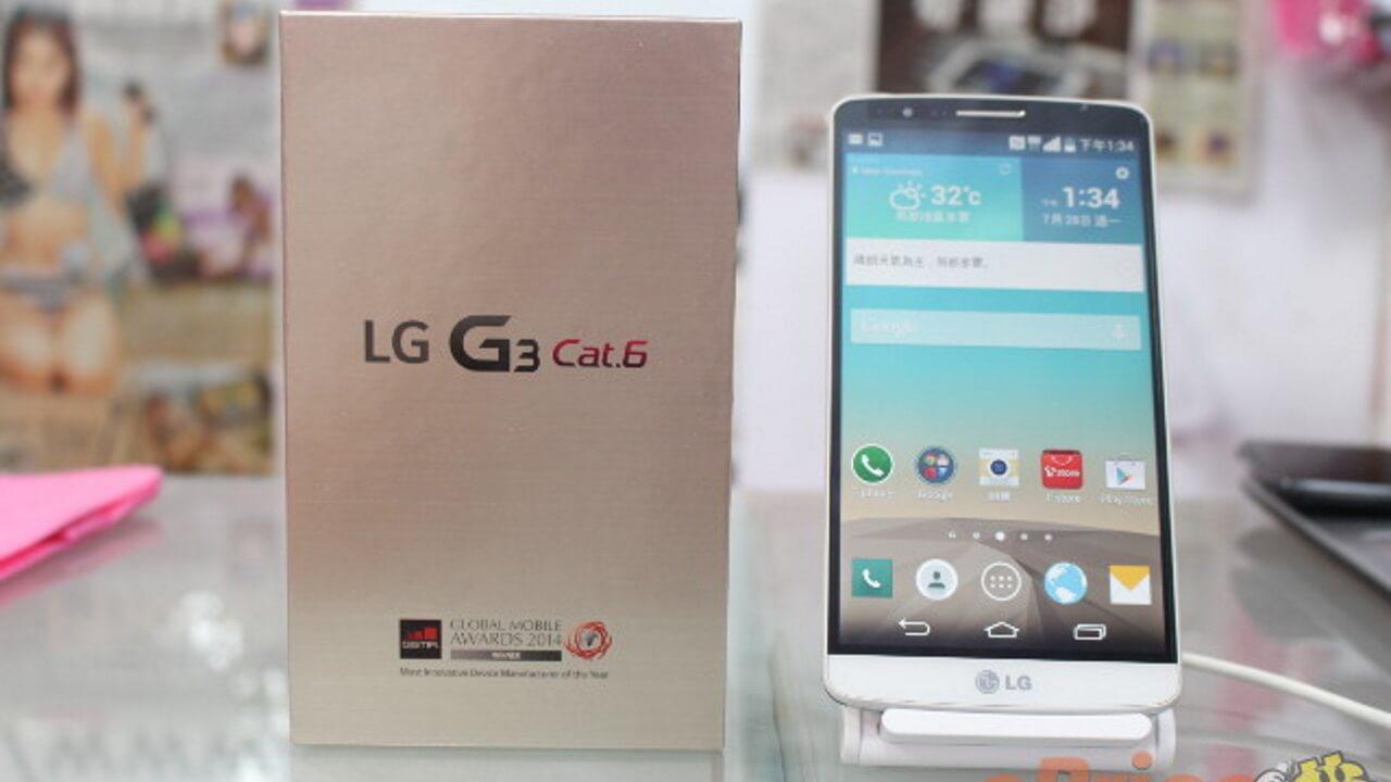 Snapdragon 805搭載LG G3 Cat.6のベンチマークスコアはGalaxy S5より低め