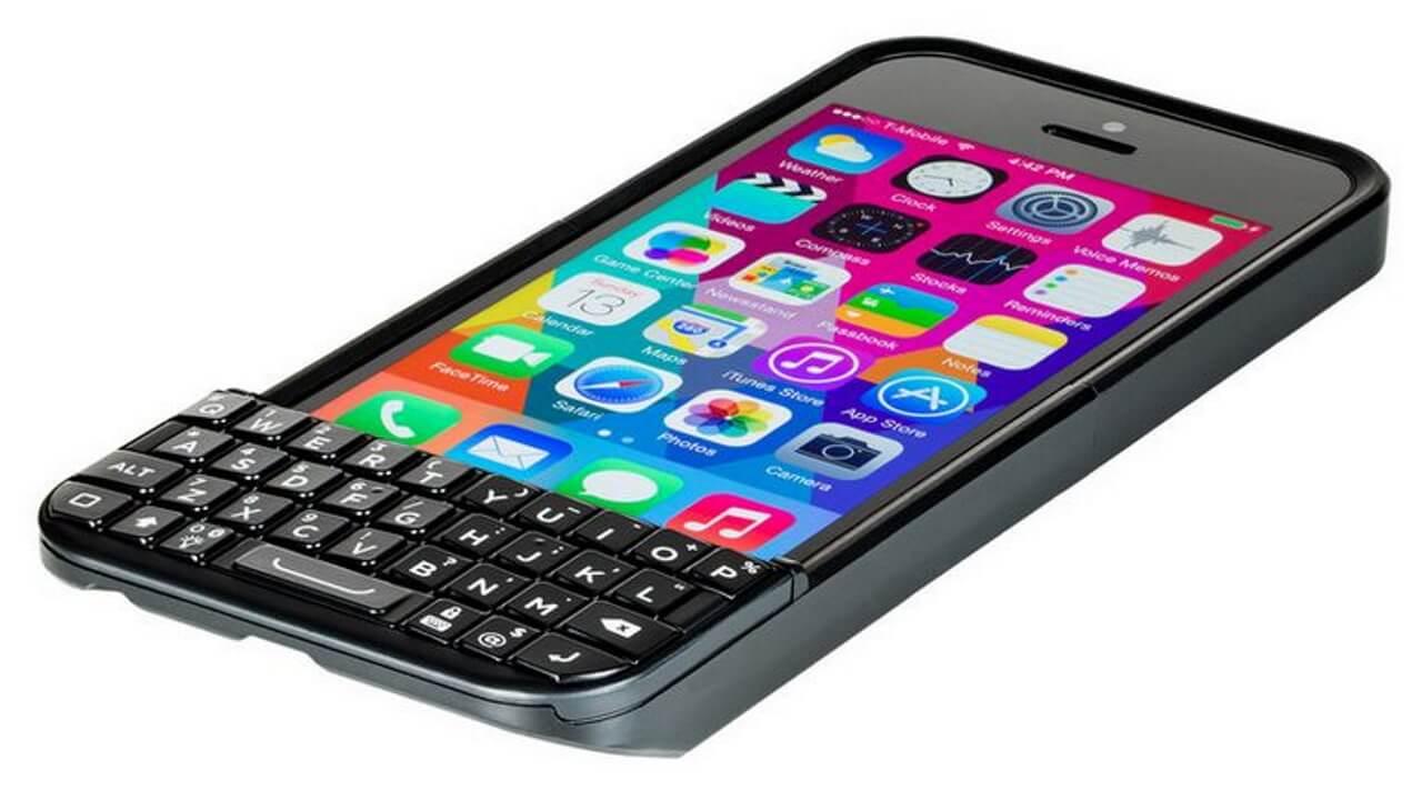 QWERTYキーボード付きiPhone 5/5s用ケース「TYPO 2」の予約が開始