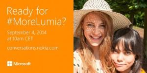 IFA 2014におけるMicrosoft(Nokia)のプレスカンファレンスは9月4日10時から開催