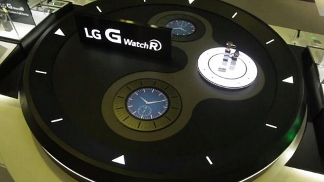 LG G Watch Rは10月14日に発売予定