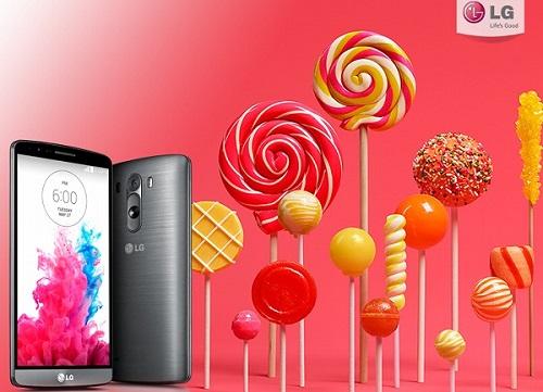 LG、LG G3のAndroid 5.0(Lollipop)へのアップデートを正式発表。Q4中に配信予定