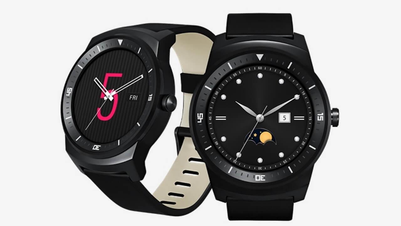 米Google Play Storeで「LG G Watch R」発売