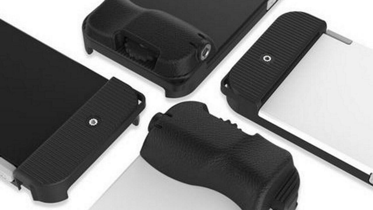 【更新】コペックジャパン、iPhoneをデジカメのようなスタイルに拡張できるケース「bitplay SNAP! 7」を発売、凄く良さそう