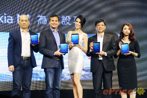 ホームアプリZ Luncherを搭載した7.9インチタブレット「Nokia N1」が台湾で発売