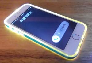 """""""Jetstream SHOP"""" ちょこっとアイデア商品「iPhone 6 / 6 Plus用 LEDフラッシュTPUケース」"""