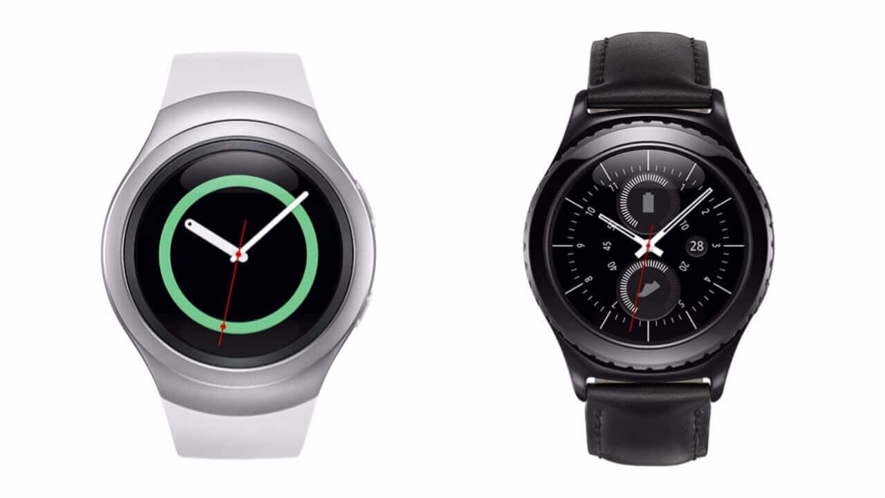 Samsung、新型スマートウォッチ「Gear S2/S2 Classic/S2 3G」を発表