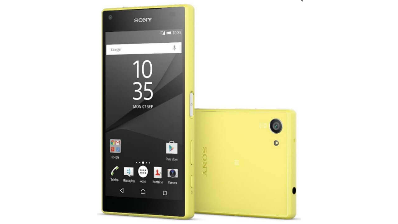 「Xperia Z5 Compact」ドイツで発売