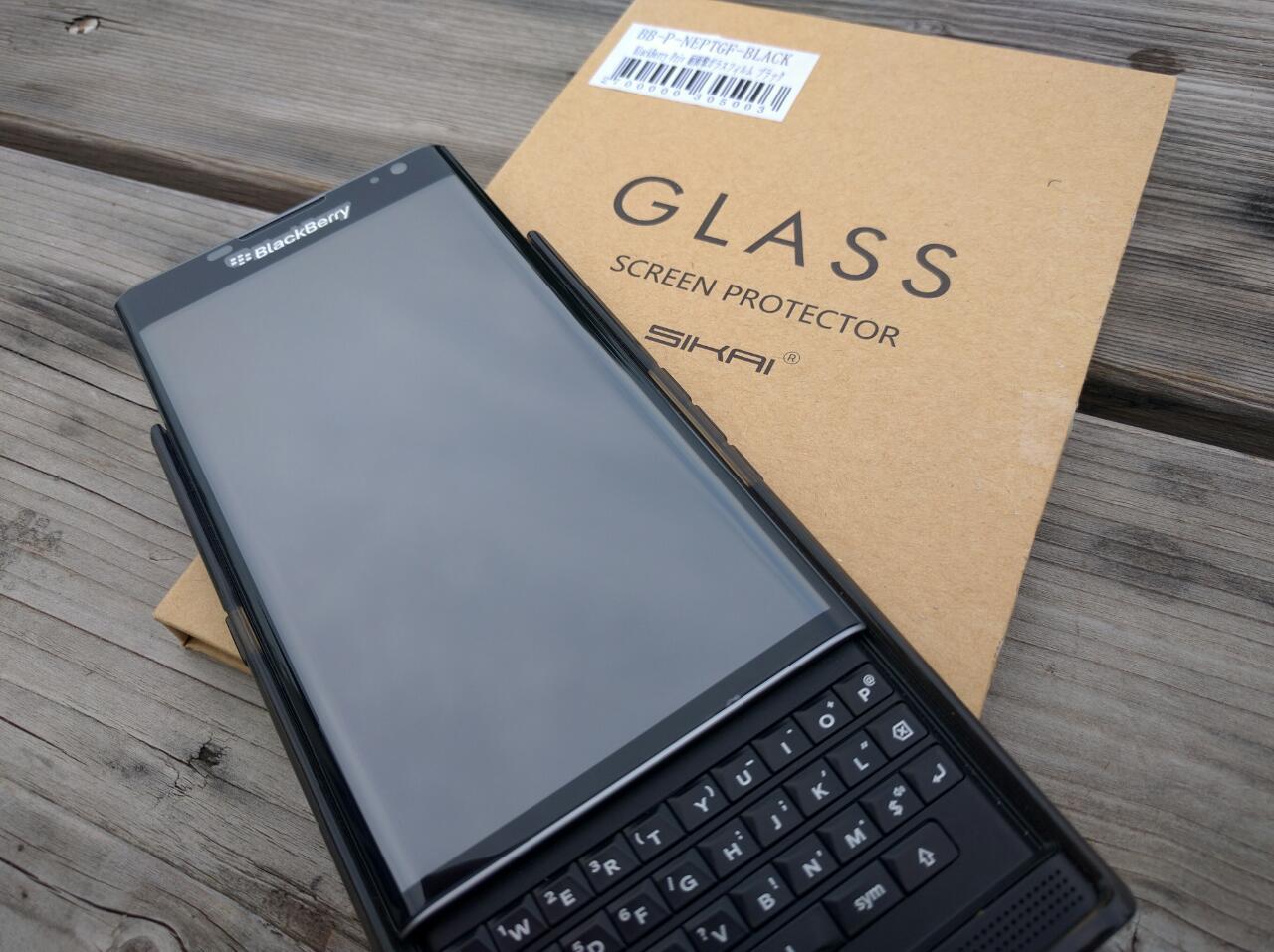 「BlackBerry Priv」のカーブディスプレイまでしっかりカバーできる「SIKAI耐衝撃ガラスフィルム」レビュー