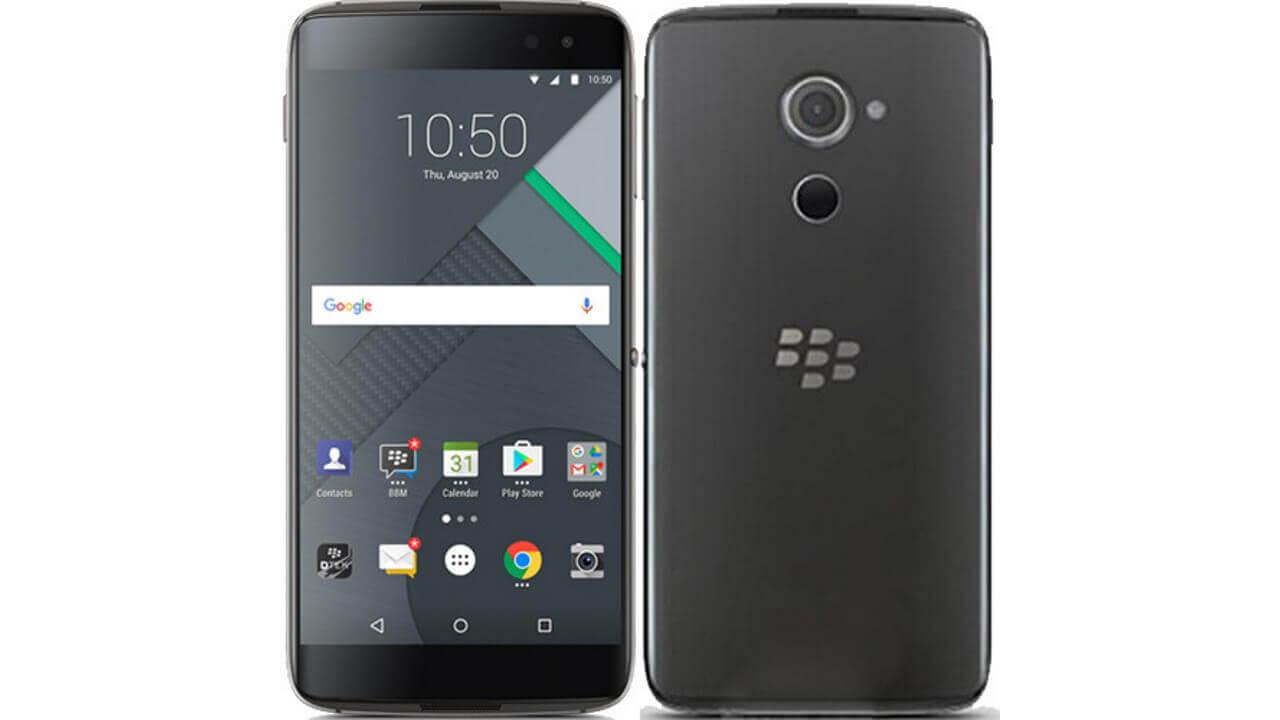 英HandtecがBlackBerryの未発表スマートフォン「DTEK60」の予約を先走って開始、10月17日頃に発売