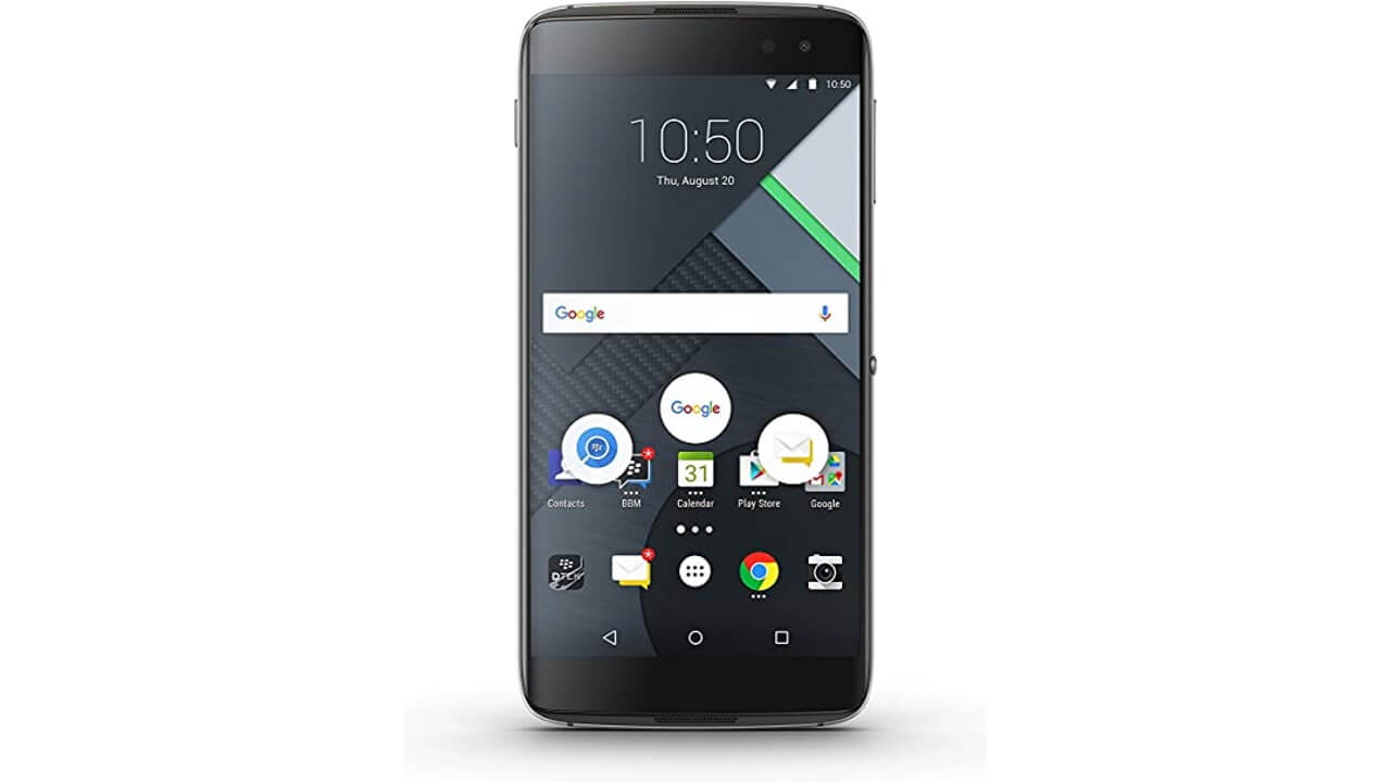 BlackBerry、Android第3弾「DTEK60」を正式発表