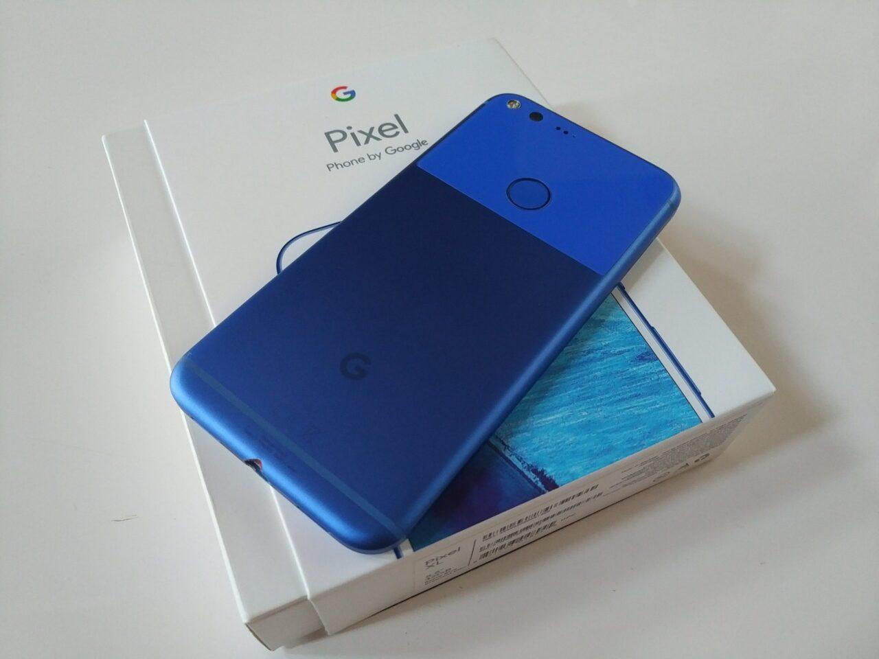 """※確約済【売ります 2016 番外編】傷物です「Pixel XL」""""Really Blue"""""""