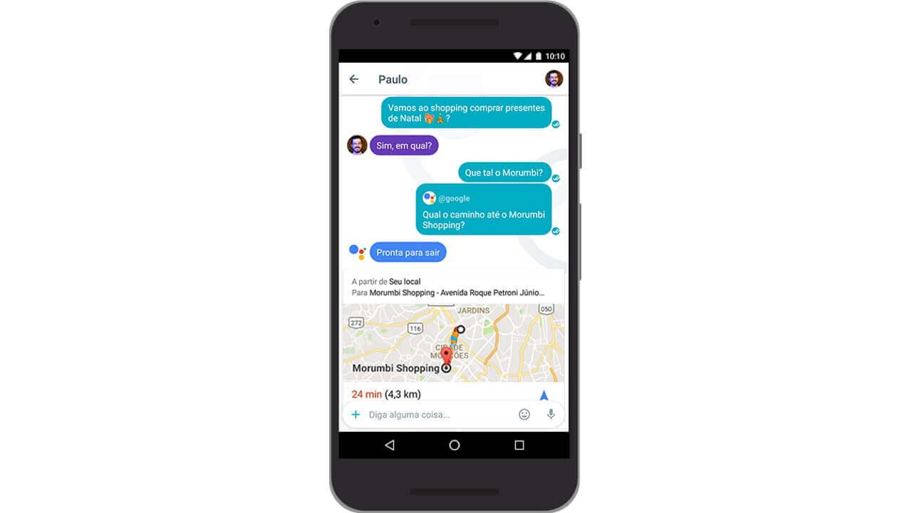 「Google Allo」がブラジルポルトガル語とヒンディー語をサポート