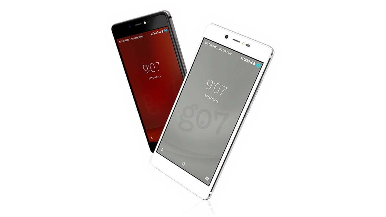 NTTレゾナント、4G+3GのDSDS対応のCOVIA製低価格スマートフォン「g07」を発売