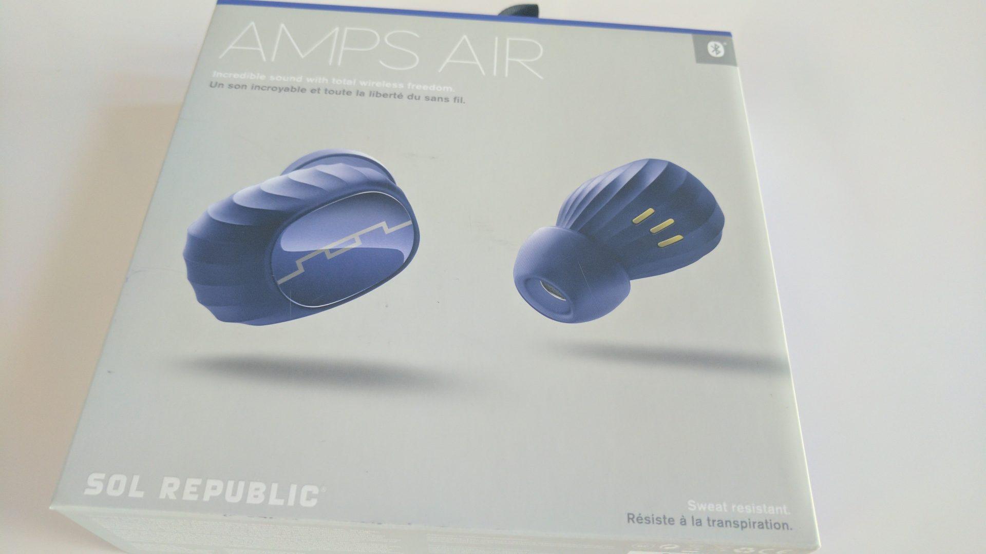 "SOL REPUBLIC「Amps Air」の""Deep Blue""カラーが届いたのでフォトレビュー"