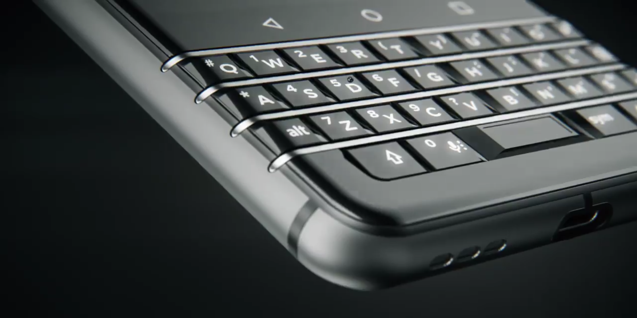 「BlackBerry Mercury」はコードネーム、正式名称はMWC 2017で発表