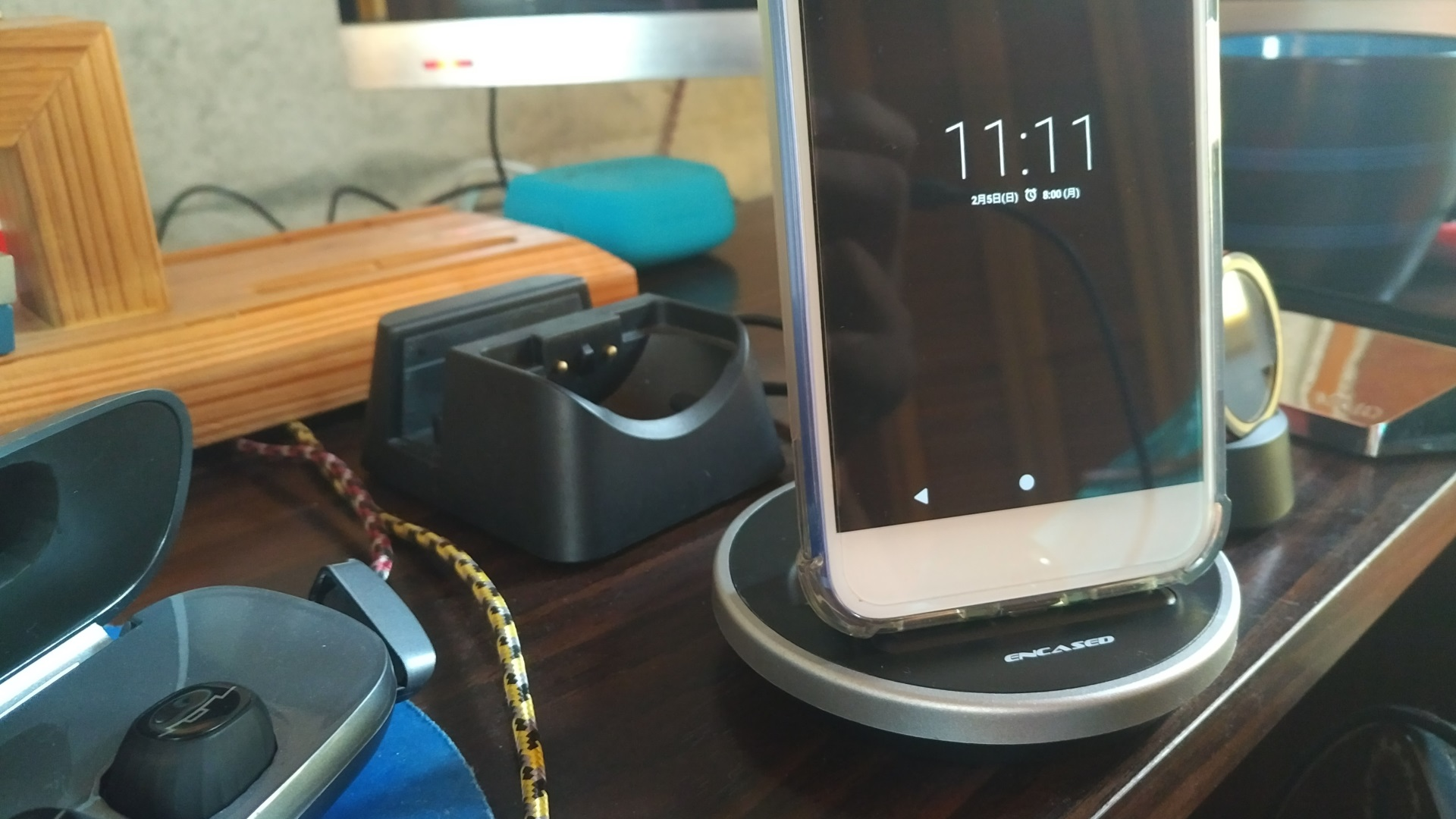 【レビュー】USB Type-Cスマートフォン用充電ドック「ENCASED Sync & Charge Dock」、常用問題なしの良製品でした
