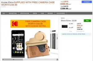 Cloveが「Kodak Ektra(レザーポーチ付)」を今週末だけ特化販売、輸入総額は54,000円程度