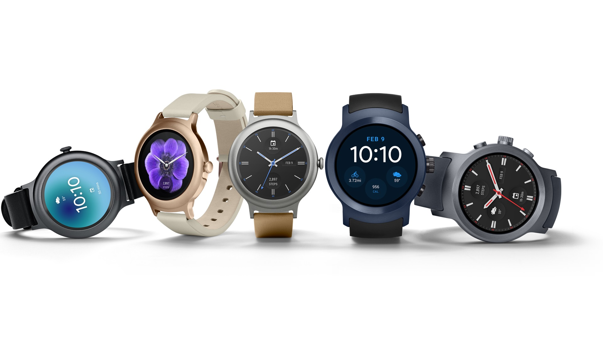 Google、Android Wear 2.0を初期搭載した新型スマートウォッチ「LG Watch Style / Sport」を発表、2月10日から発売