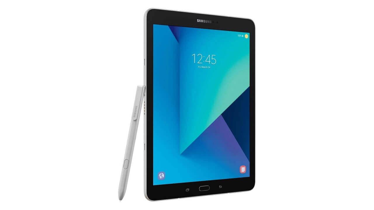 「Galaxy Tab S3(SM-T820)」の本体価格は$599.99、キーボードケースは$129.99