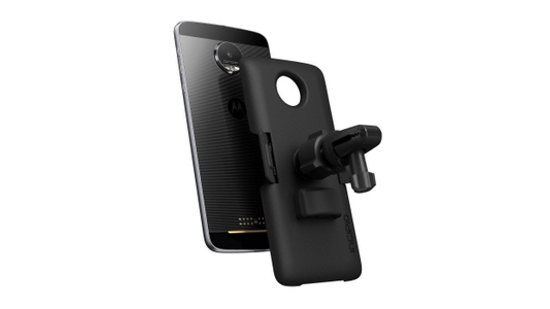 シネックスインフォテック、Android Auto対応の「Moto Z / Z Play」用車載Moto Mods「ビークル・ドック」を発表