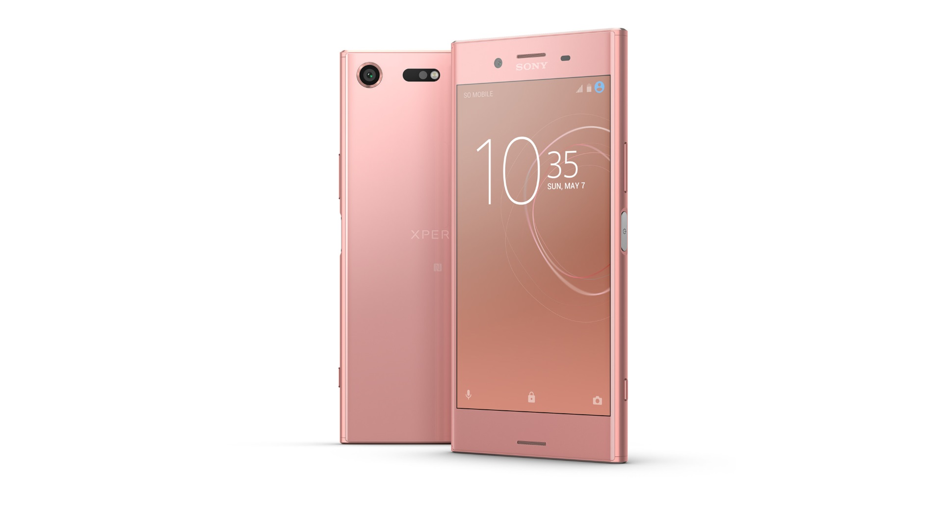 """【更新】Sony Mobile、4Kハイスペックスマートフォン「Xperia XZ Premium」の新色""""Bronze Pink""""を披露"""