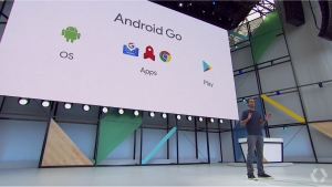 【Google I/O 2017】1GB RAM以下に最適化された新プラットフォーム「Android Go」を発表