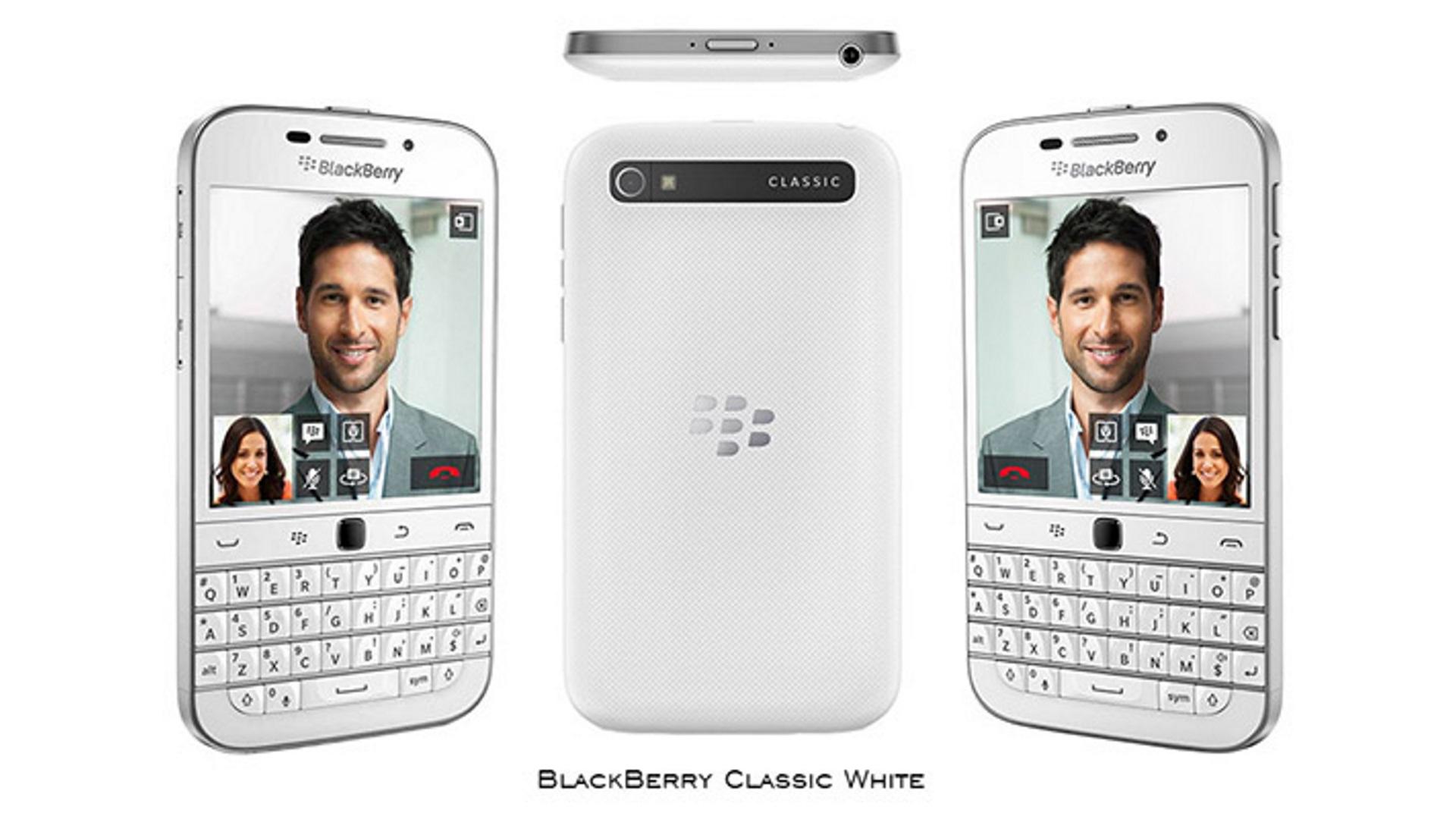 FOX、「BlackBerry Classic」ホワイトを数量限定で再発売