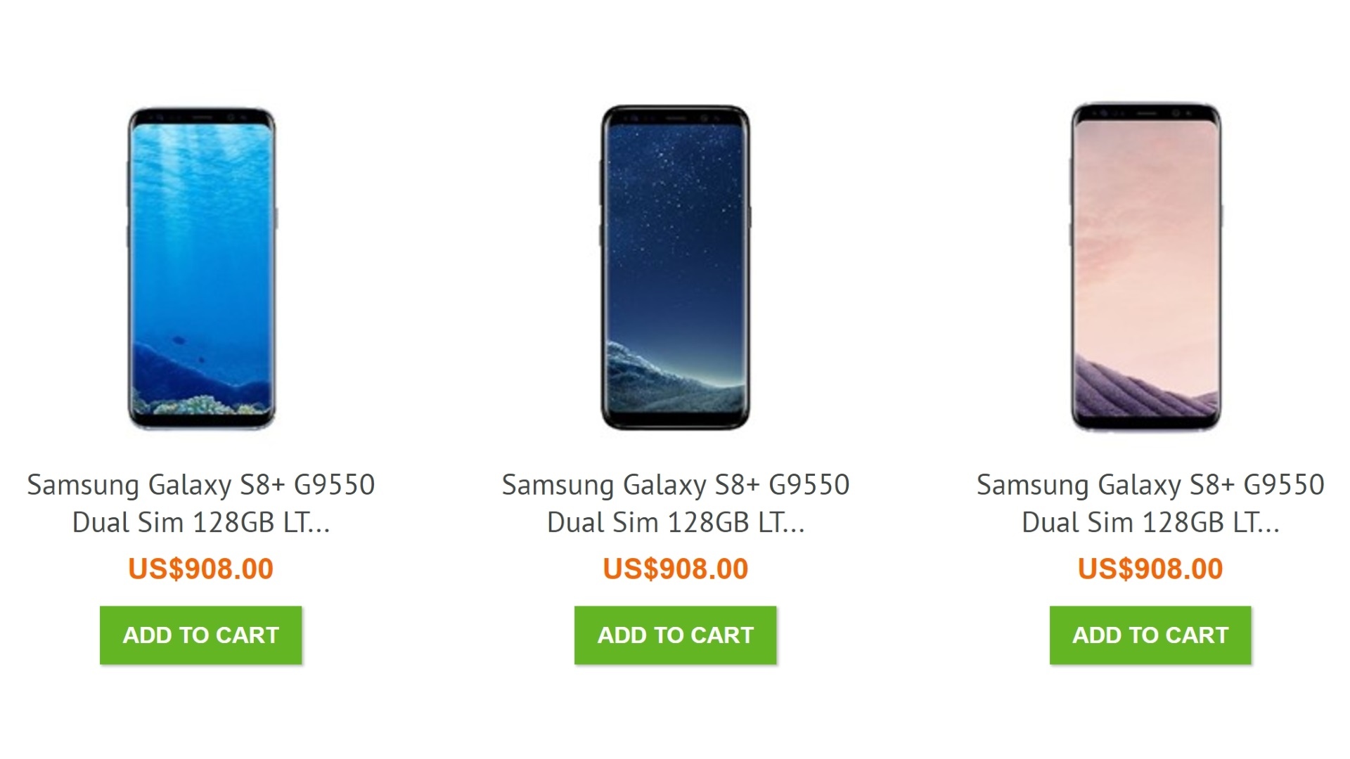 Uniqbeに6GB RAM搭載「Galaxy S8+」が入荷