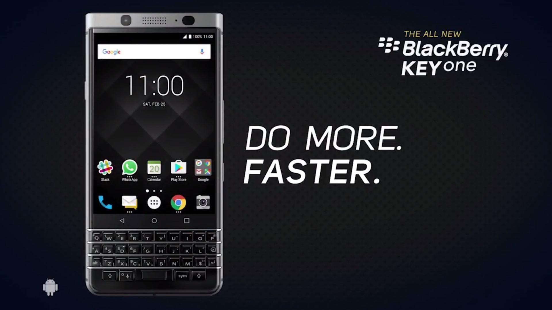 「BlackBerry KEYone」公式CM動画4本公開
