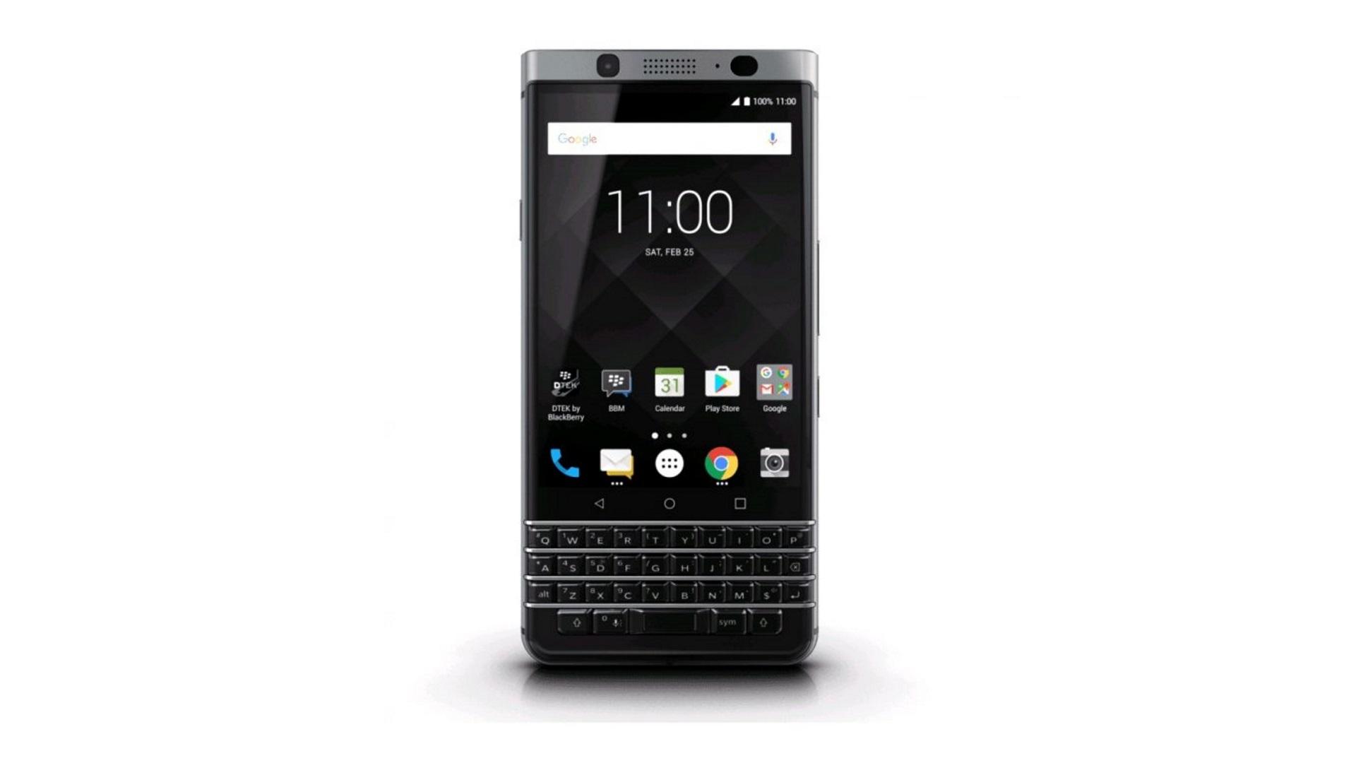 「BlackBerry KEYone(BBB100-6)」国内主要販売店全てで在庫ありに