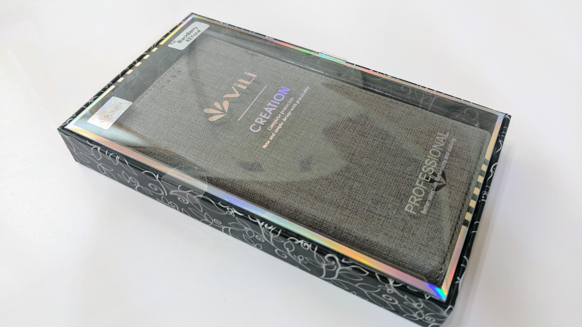 フラップが磁気で収まる「BlackBerry KEYone」用Feitenn手帳型ケースが良さげ【レポート】