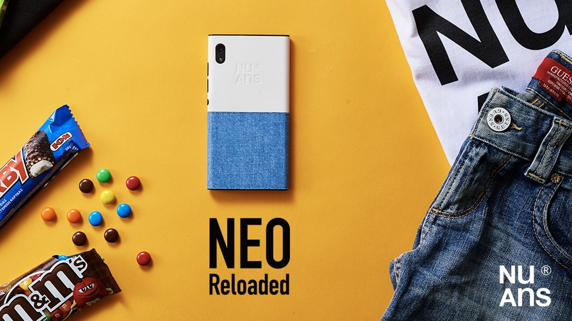 「NuAns NEO [Reloaded]」にAndroid 7.1.2アップデートが配信開始