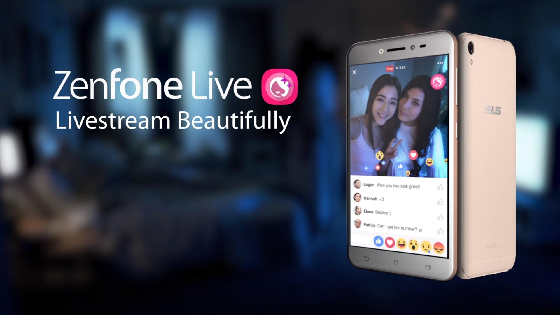 貞●?「ASUS ZenFone Live」の面白いプロモ動画