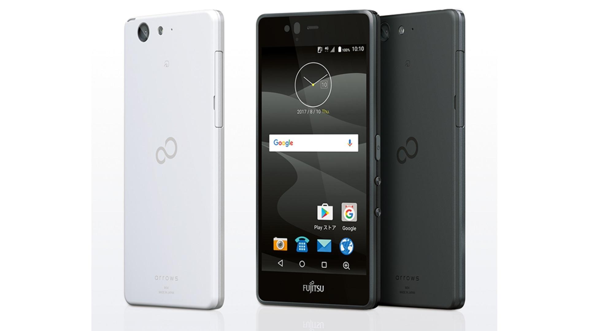 富士通「arrows M04」発表、Android 7.1搭載
