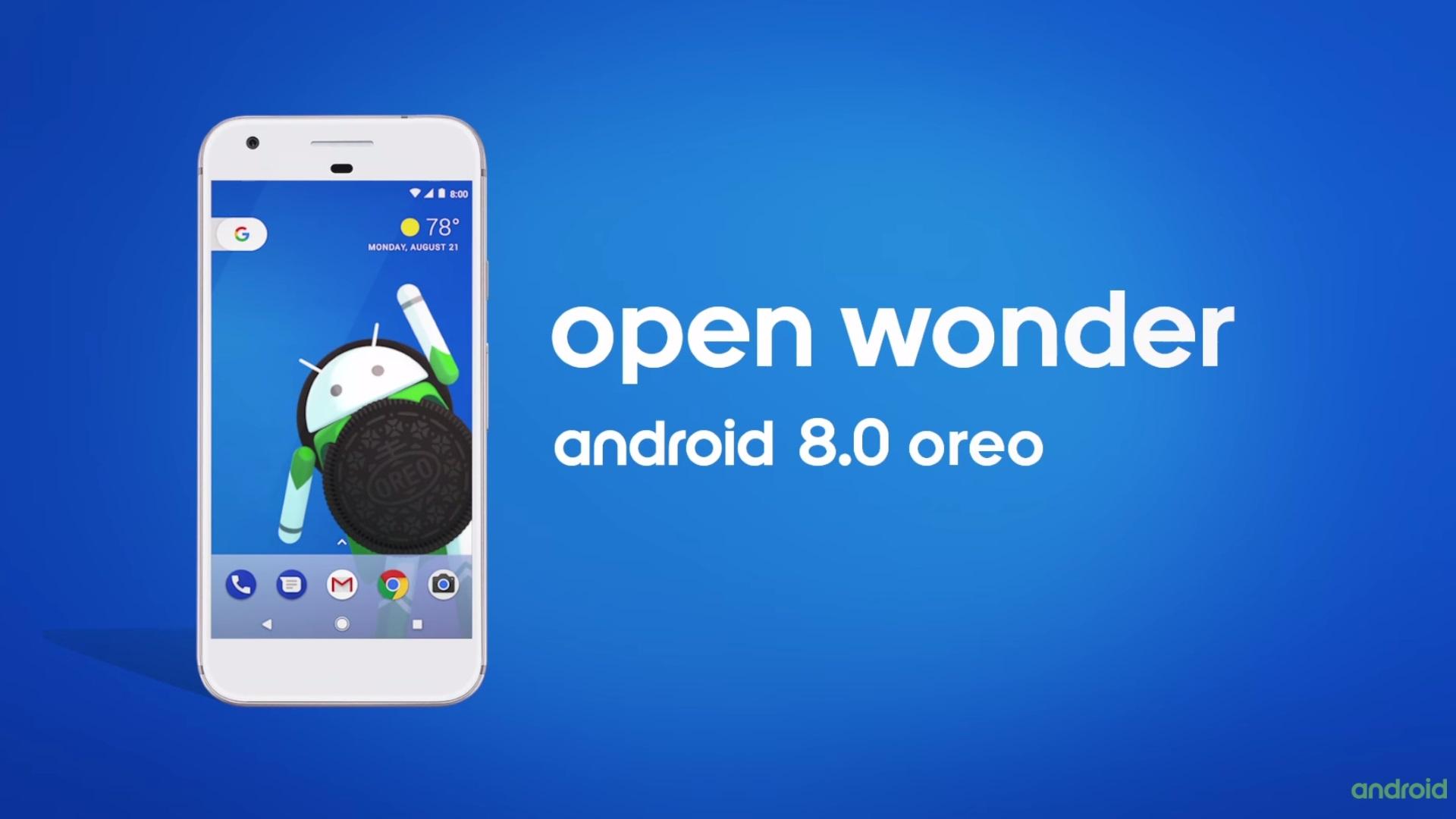 新Android OS「Android 8.0 Oreo(オレオ)」正式発表