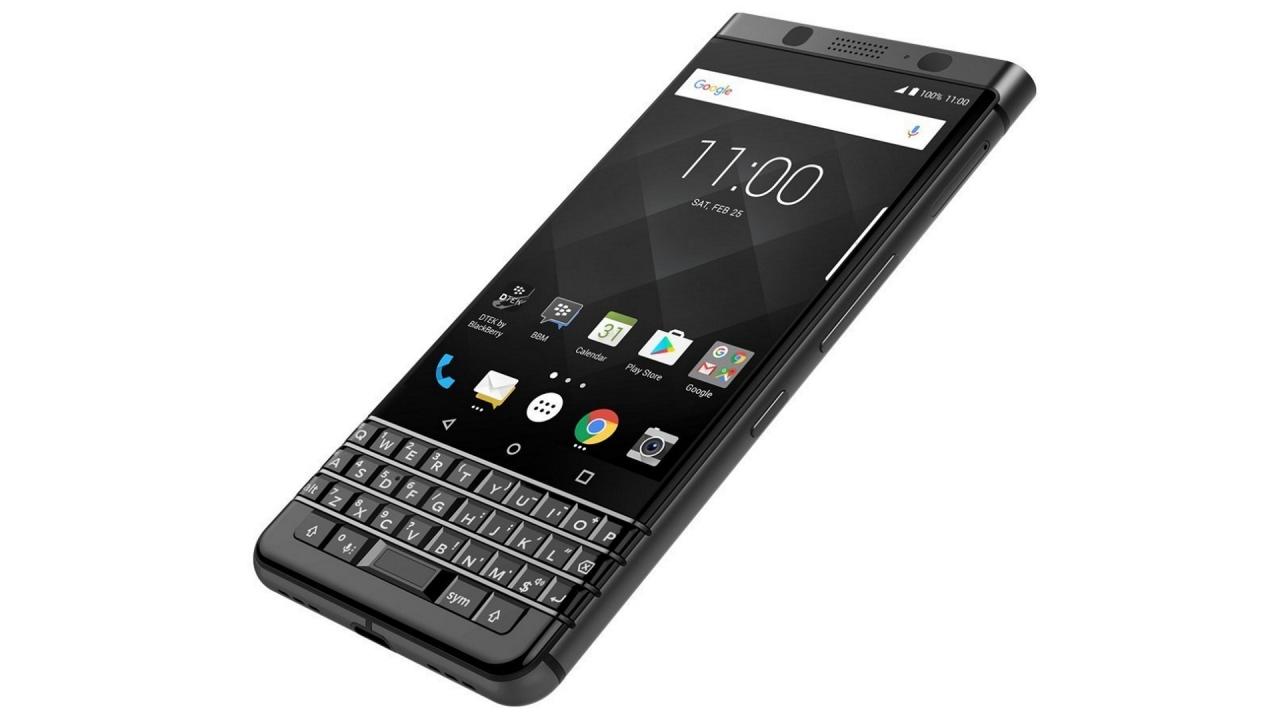 「BlackBerry KEYone BLACK EDITION」が英国で発売