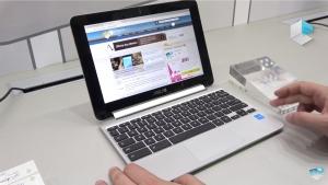 「Chromebook Flip C101PA」のハンズオン動画