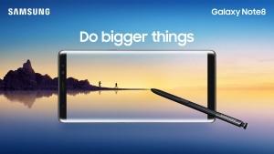 Samsung、初のデュアルカメラ搭載「Galaxy Note8」を正式発表