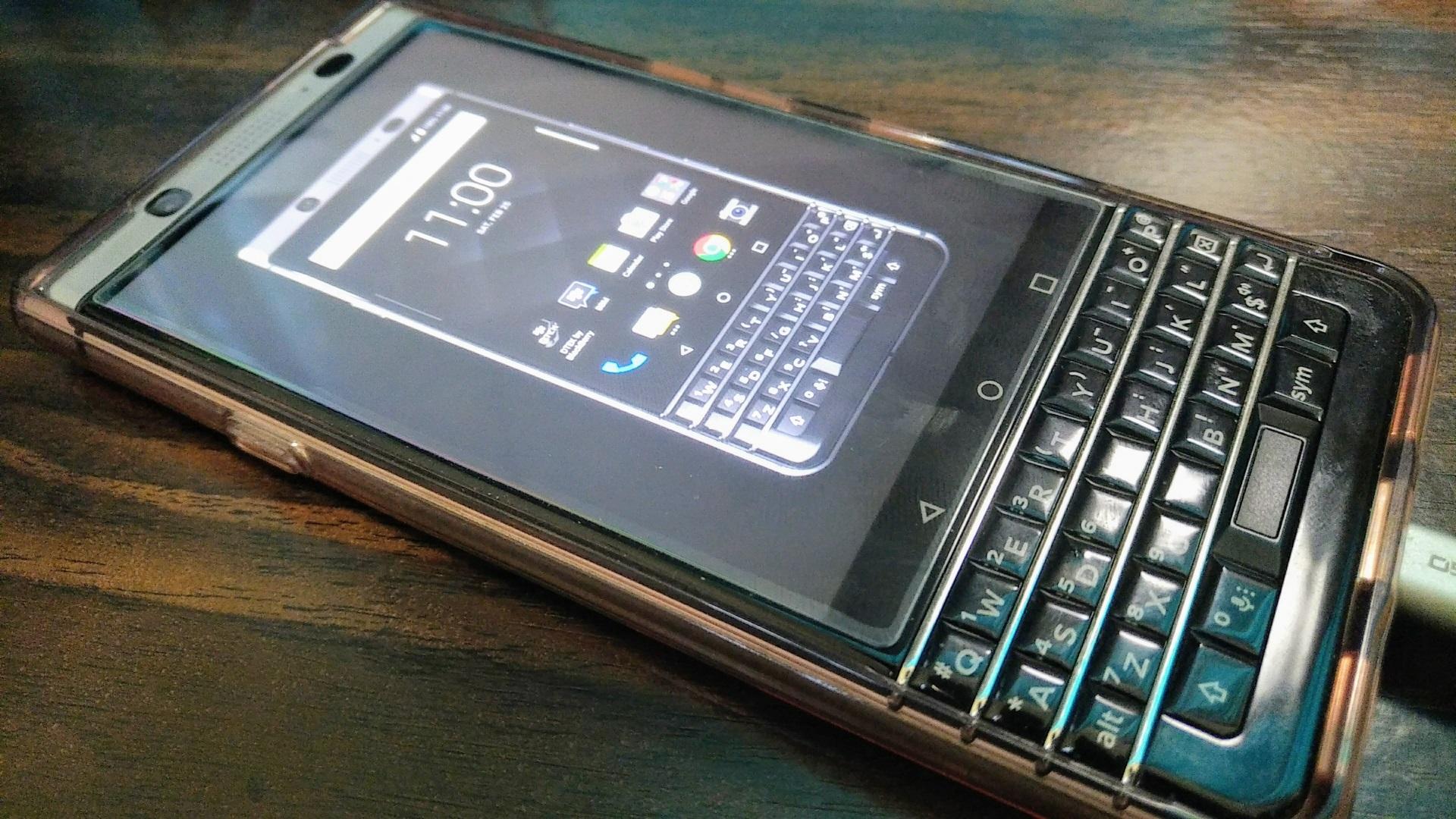 単なる「BlackBerry KEYone」の店頭用デモ動画公式アプリ「BlackBerry KEYone Demo」