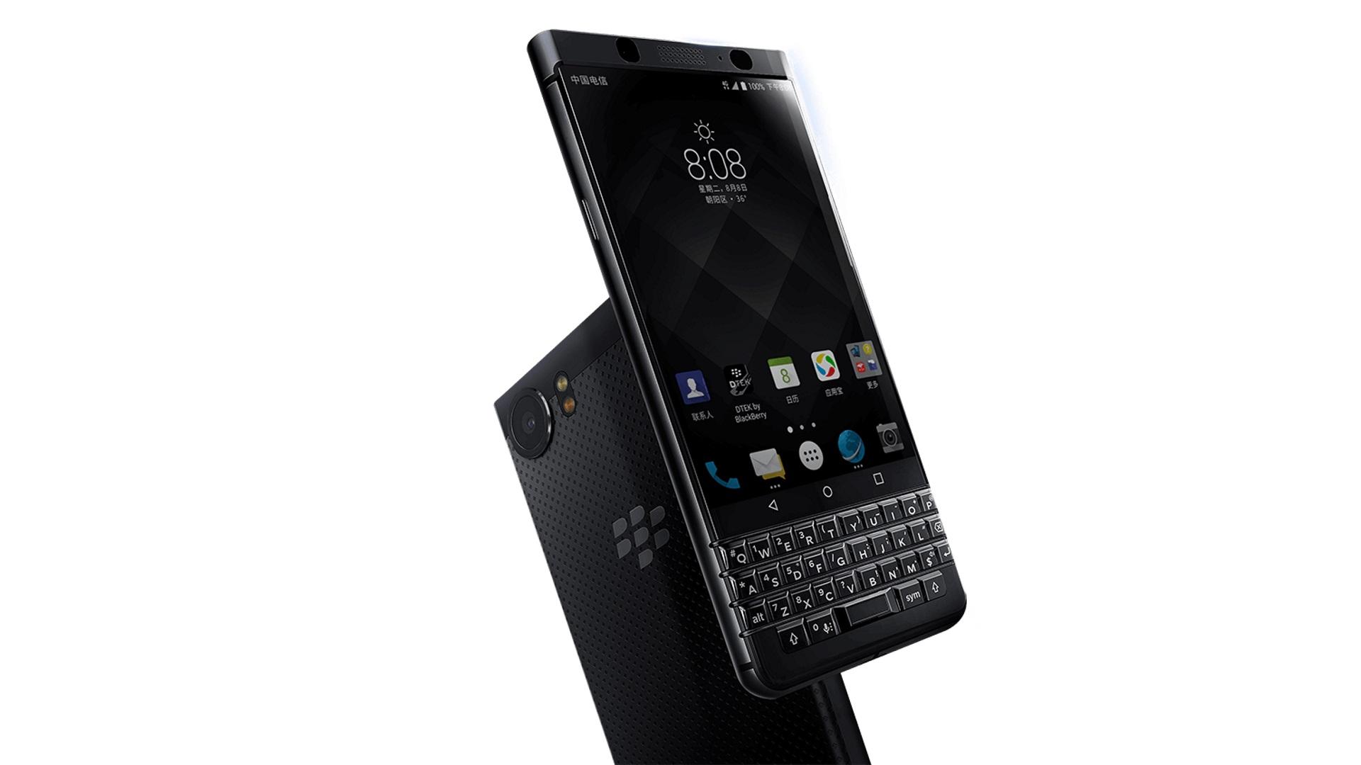 中国で「BlackBerry KEYone(BBB100-4)」が発売、2色展開で4GB RAM搭載