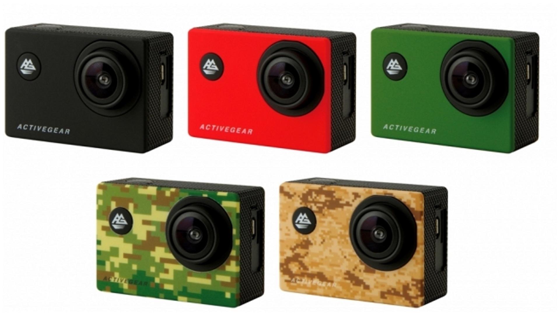 ドン・キホーテ、安価なIPX8対応アクションカム「アクティブギア フルHDカメラ」発売