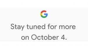 Google、10月4日の新製品発表に向けたティザーを公開